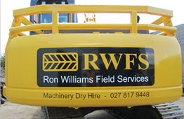 Forest Machinery Hire